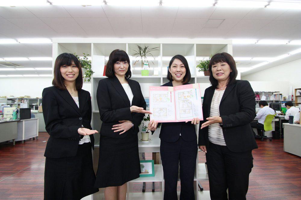 女性社員でプロジェクトチームを立ち上げ商品開発