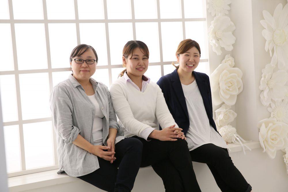 スタッフの9割が女性。14店舗のうち65%が女性店長