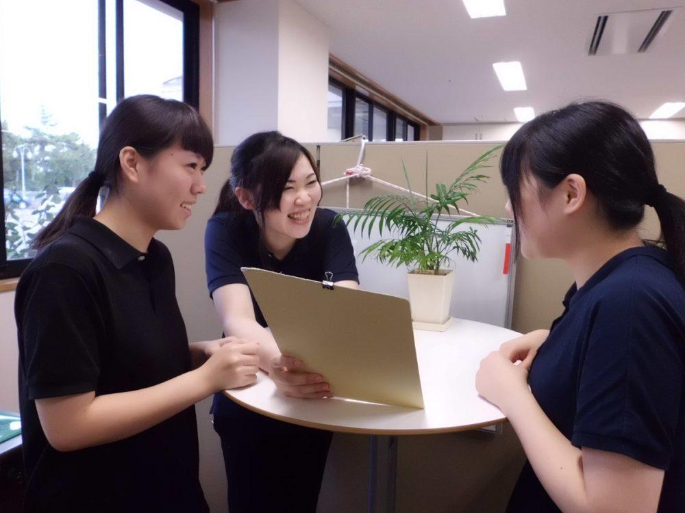 10代〜70代まで女性が長く活躍できる仕事。正社員への転換を積極的に応援
